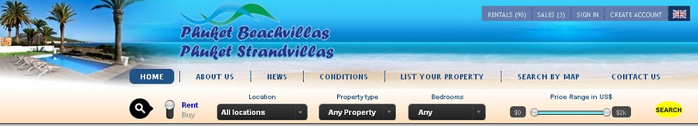 choose from our selection of Villas in Phuket for Rent or for Sale